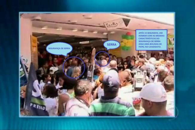 Caso Bolinha de Papel: Segurança de Serra é principal suspeito
