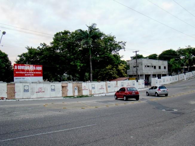 A Cidade da Criança está fechada desde abril de 2008, quando fortes chuvas atingiram a capital potiguar (Foto: Isaac Ribeiro/Fotec)