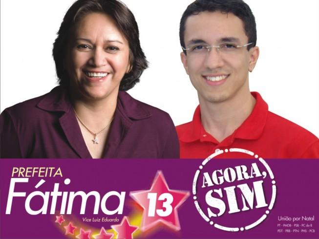 Fátima Prefeita e Isaac Ribeiro