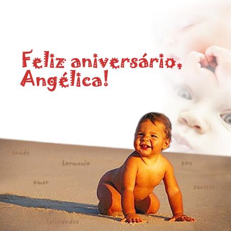 Feliz aniversário, Angélica!