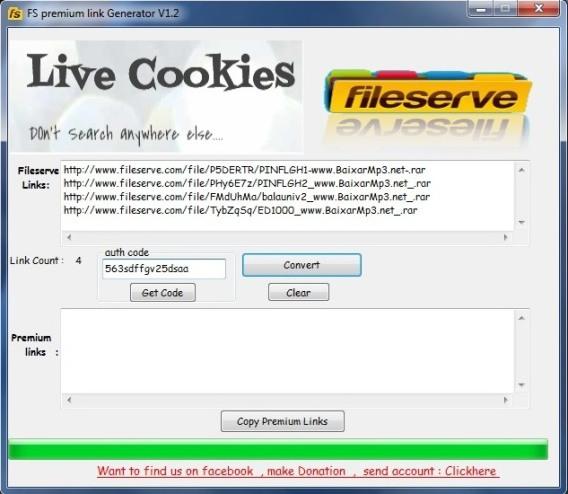 Fileserve Premium Link Generator 1.2 ING Original - Passo a Passo (05)
