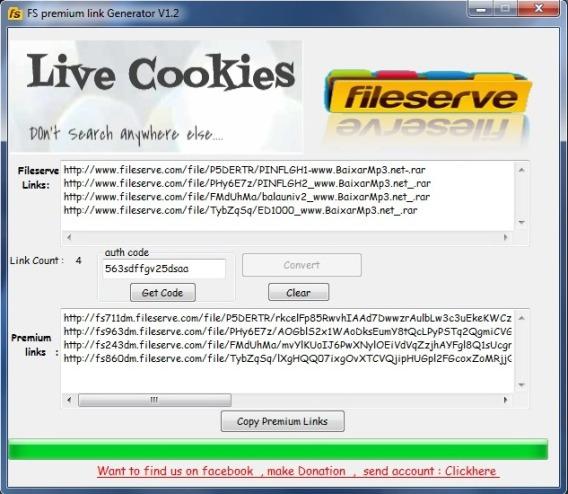 Fileserve Premium Link Generator 1.2 ING Original - Passo a Passo (07)