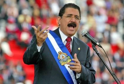 Presidente constitucional de Honduras, José Manuel Zelaya (Foto: AFP)