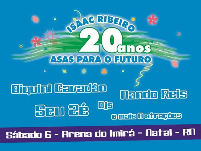 Isaac Ribeiro - 20 anos