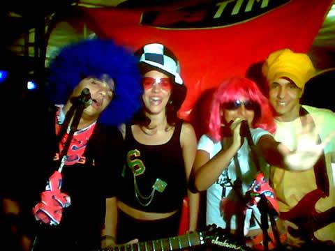 Um clique durante a segunda noite do Música Alimento da Alma: Fell, Isadora Trigueiro, Brunna Brok e Isaac Ribeiro