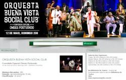 Reprodução do portal do Teatro Riachuelo
