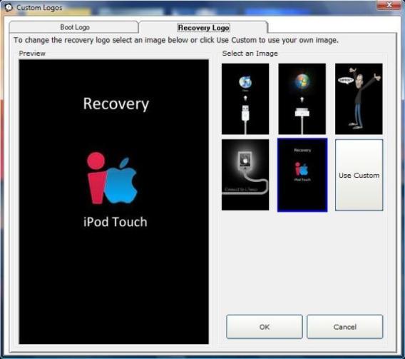 Etapa 2 do QuickFreedom - Escolhendo o Recovery Logo