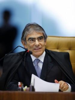Vice-Presidente eleito do STF, Ministro Carlos Ayres Britto